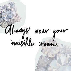 Always wear your invisible crown. #DisneySide