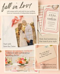 We're making it super easy for you! @minted is the perfect one stop shop for all of your wedding paper needs. http://www.minted.com