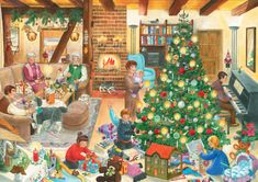 Weihnachtswimmelbuch: Amazon.de: Anne Suess: Bücher Cozy Christmas, Christmas And New Year, Christmas Time, Christmas Crafts, English Creative Writing, Picture Comprehension, Best Jigsaw, Picture Writing Prompts, Human Drawing