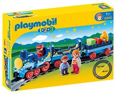 PLAYMOBIL 1.2.3 Night Train with Track PLAYMOBIL®