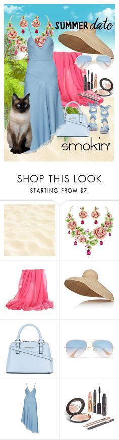 """""""smokin'"""" by daincyng ❤ liked on Polyvore featuring Lola, Armani Jeans, Ray-Ban, Marques'Almeida, Altuzarra and summerdatenight"""