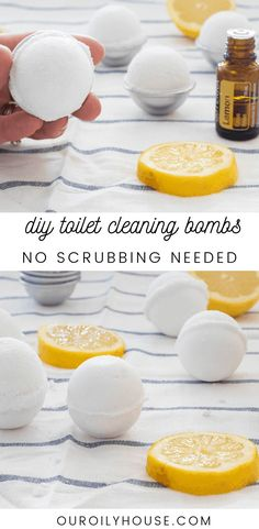 natural home decor Your cleaning day just got easier with these homemade toilet cleaning bombs. Made with all-natural ingredients these will leave your toilet sparkling with little effort. Cleaning Day, Toilet Cleaning, House Cleaning Tips, Spring Cleaning, Cleaning Hacks, Diy Hacks, Cleaning Toilets, Borax Cleaning, Bathroom Cleaning