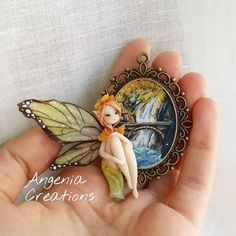 « Wood fairy, i hope you like it! It Will be available in My etsy Shop on friday (20th) at 9 p.m. With other creations! :) #art #artist #woods #handmade… »