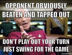 Picard meme magic the gathering mtg funny humour