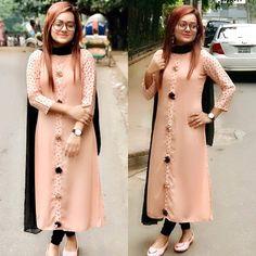 Salwar Suit Neck Designs, Kurta Neck Design, Kurta Designs Women, Dress Neck Designs, Blouse Designs, Designer Party Wear Dresses, Kurti Designs Party Wear, Long Kurti Patterns, Kurti Sleeves Design