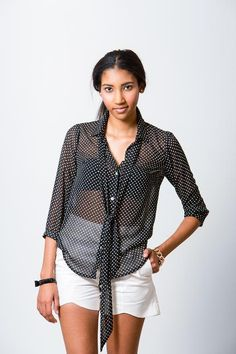 Looking for your next project? You're going to love Pussy Bow Blouse Pattern by designer Pattern Runway.