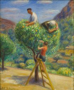 William Glackens - Picking Fruit
