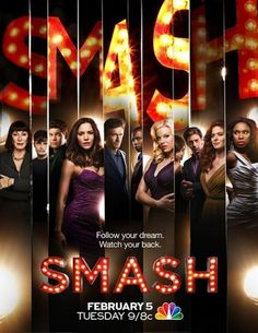 #Smash - absolutely loved this show, didn't know broadway was so scandalous lol, But like every show I love it got cancelled lol . #broadwayhereIcome