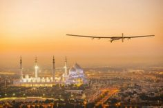 For the second time this decade, the Swiss firm Solar Impulse is attempting to set a solar flight world record by circumnavigating the globe. The Solar Abu Dhabi, Fly Around The World, Around The Worlds, Vols Longs, Flight Take Off, Round The World Trip, Times Of India, World Traveler, Solar Power