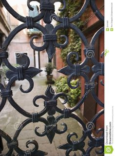 Italian gate in Venice
