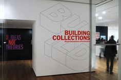 Project: Building Collections: Recent Acquisitions of Architecture Project Team: Julia Hoffmann (creative direction), H.Y. Ingrid Chou (art direction), Sam Sherman (design) Photos: Martin Seck