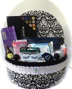 Christmas Makeup Gift Basket – Wonderfully Made Baskets 40% off ...