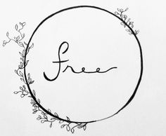 The simple word, circled as we had done that day, was too painful a word, so much sacrificed for, and what does it all mean for now if you throw it away? Live Free Tattoo, Free Spirit Tattoo, Tattoo Circle, Circle Tattoo Meaning, Font Tattoo, Delta Tattoo, New Tattoos, Future Tattoos, Love Tattoos