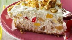 Frozen Hawaiian Pie - Taste of Home Cheese Log, Cheese Ball, Hawaiian Pie, 70s Food, Summer Pie, Cheese Spread, Sweet Pie, Vintage Recipes, Carrot Cake