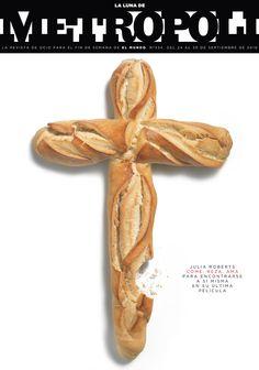 Metropoli - Eat, pray and love Book Design, Cover Design, Come Reza Ama, Newspaper Cover, Magazine Design, Editorial Design, Print Design, Graphic Design