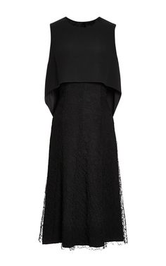 Sleeveless Dress With Lace Overlay by Thakoon - Moda Operandi