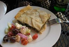Spanakotiropita  Greek Spinach and Cheese Pie -