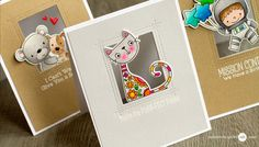 Tulle Window Card Video by Jennifer McGuire Ink