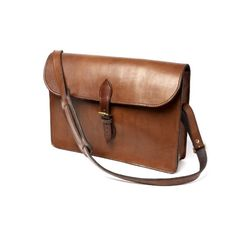 Leather Satchel,