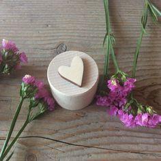 Proposal ring box / small round wooden box / engagement ring box / wedding ring box / tiny wooden box by NeliStudio on Etsy