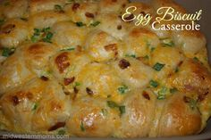 Egg Biscuit Casserole — Recipes Hubs