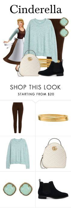 """Cinderella"" by megan-vanwinkle ❤ liked on Polyvore featuring Ralph Lauren Black Label, Jane Diaz, Gucci, Sorrelli and TOMS"