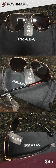 Prada Sunglasses Brand new unisex fashion designer Prada sunglasses comes with a cloth dust bag Prada Accessories Sunglasses