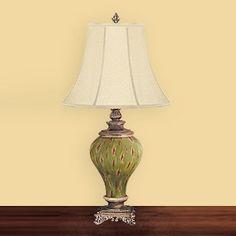 JB Hirsch J15209 Oakheaven Palace Porcelain Table Lamp
