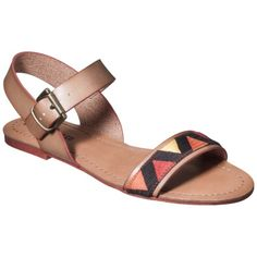 Elegant Women39s Lakitia Embellished Sandals  Mossimo Supply Co Product