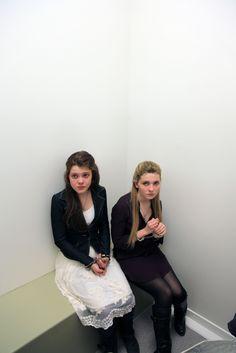 Georgie Henley and Abigail Breslin -  thanks to Christian Mouzard http://www.flickr.com/photos/christianmouzard/sets/72157629926926475/