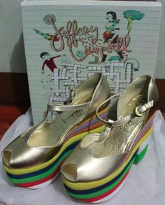 My SALVATORE shoes by Jeffrey Campbell..