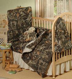 Real Tree Max-4 Life Like Camo Baby Crib Bedding by Kimlor