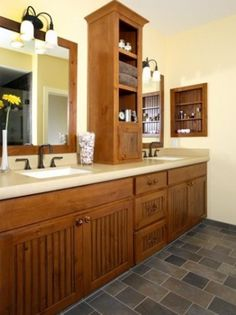 Photo of White Arts & Craft Bathroom project in Danville, CA by Gayler Construction