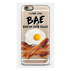 I Love You BAE iPhone ($40) ❤ liked on Polyvore featuring accessories, tech accessories, phone and phone cases