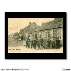 Saint Pierre Miquelon Postcard