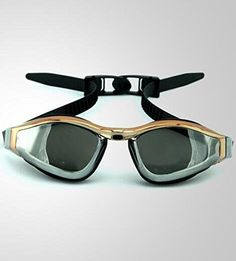 WP Local Gold Edition box fashion men and women swimming glasses adult casual waterproof fog goggles  black >>> Read more reviews of the product by visiting the link on the image.Note:It is affiliate link to Amazon.