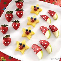 Mickey's a star, and so are these fruit treats!