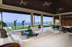 The Ungasan Clifftop Resort Villa Ambar Living Room | Uluwatu, Bali
