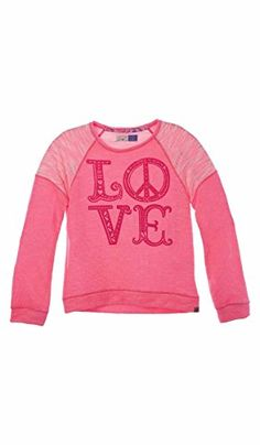 OFFCORSS Big Girls Pretty Long Sleeved Sweater T-Shirt Sueter de Ni?a Grande