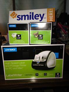 #LabelsMadeEasy experience! #gotitfree @ Smiley360 Dymo Labelwriter 450 Turbo!