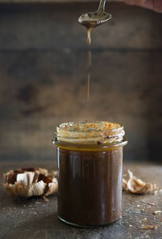 Black Garlic Vinaigrette