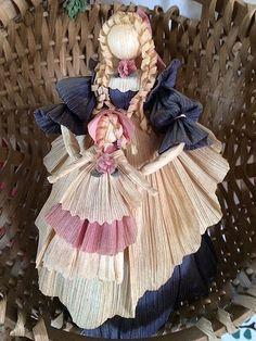 """Stephanie"" Corn Doll circa 1998 from Gatherings at Muncy Creek Barnworks"