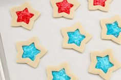 Glorious Treats: 4th of July Stained Glass Cookies