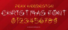 PW Christmas | dafont.com
