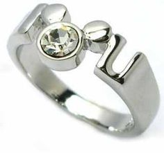 Mickey Love ring w/diamond
