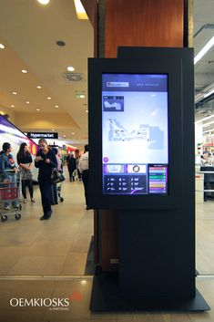 We make premium digital kiosks. We are proud to continue manufacturing high quality digital kiosks and billboards for indoor and outdoor with more than 20 years of experience. Digital Kiosk, Point Of Sale, Multimedia, Advertising, Shops, Shopping, Design, Tents