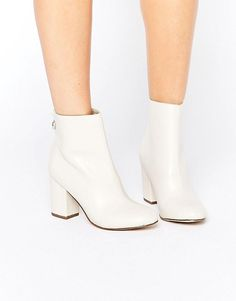 New Look | New Look - Bottines style 60's à gros talons chez ASOS