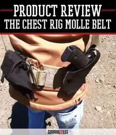 Survival Gear Review: Chest Rig MOLLE Belt (CRMB) by Beez Combat Systems at http://survivallife.com/2015/08/20/survival-gear-review-crmb/