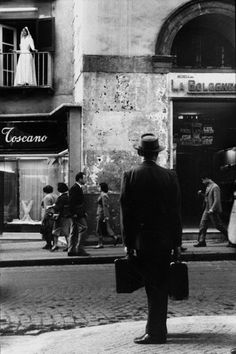 Leonard Freed, Naples, 1958