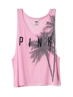 PINK Muscle Tank #VictoriasSecret http://www.victoriassecret.com/pink/tees-and-tanks/muscle-tank-pink?ProductID=113209=OLS?cm_mmc=pinterest-_-product-_-x-_-x